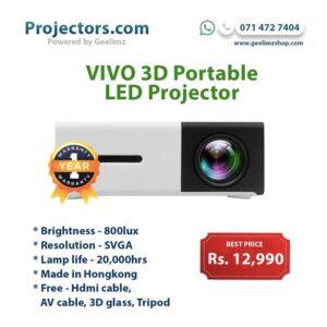 Vivo 3D Portable multimedia Smart Projector