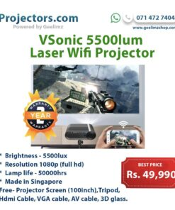 Vsonic 3d Wifi Projector