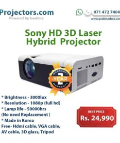 Sony 3000lux FHD Smart Projector