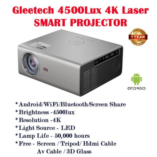 gleetech 4k projector