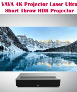 VAVA 4K Projector UHD Laser Ultra Short Throw 4K HDR Projector